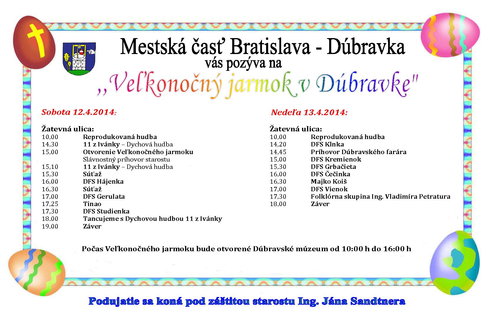 ee4265ee6 Novinky mestskej časti Bratislava-Dúbravka   Mestská časť Bratislava ...