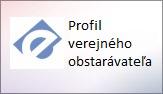 Profil verejného obstarávateľa